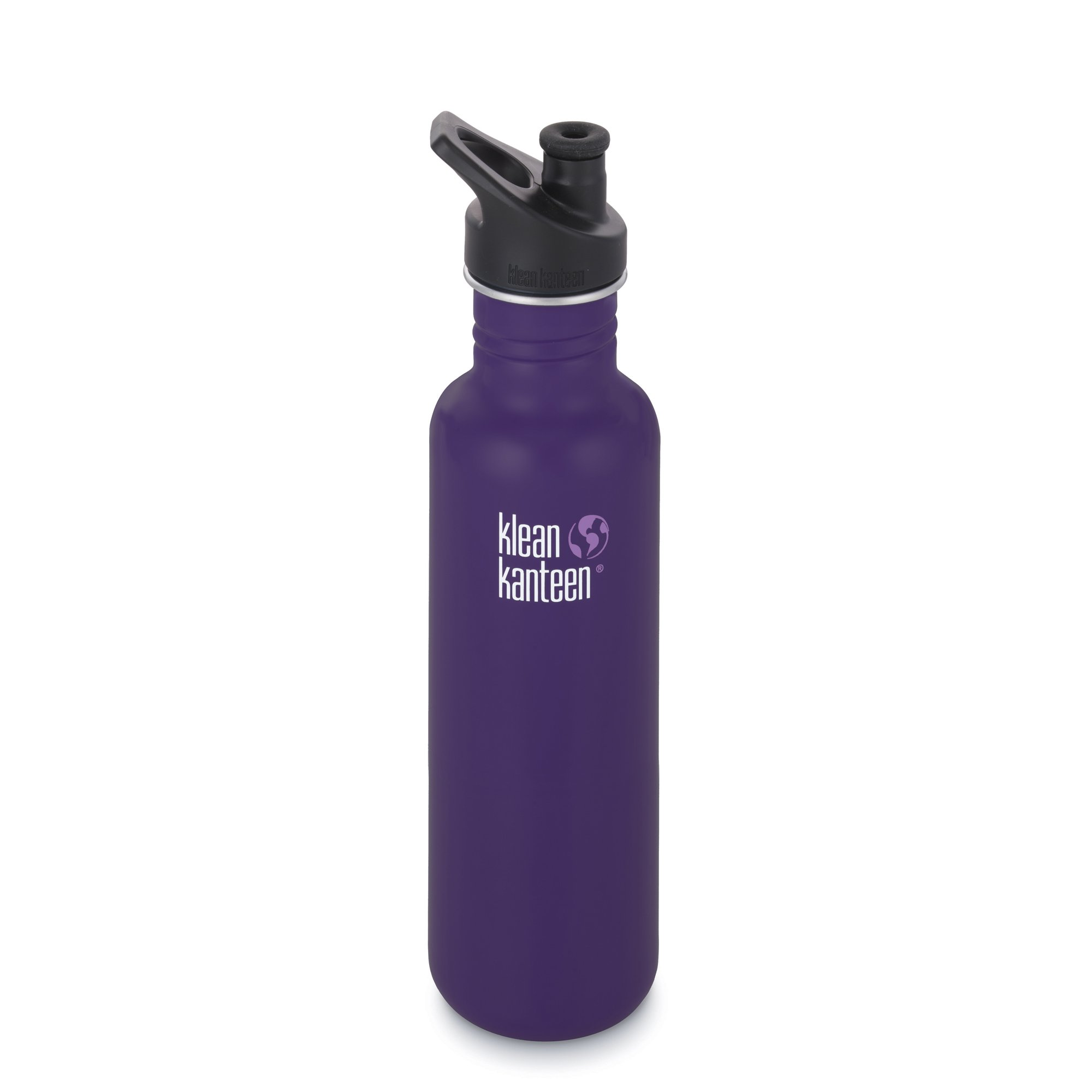 Klean Kanteen Classic Stainless Steel Bottle with Sport Cap, Berry Syrup - 27oz