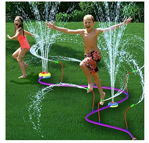 Hydro Twist Pipeline Sprinkler (color may vary) by Hydro