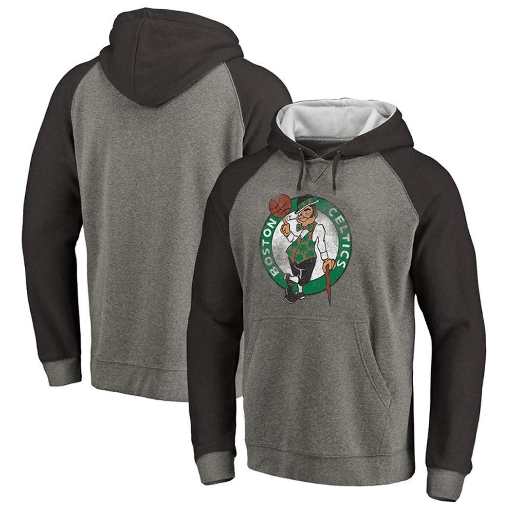 LELEHoodies Felpa con Cappuccio for Celtic Autumn Basket Splicing Sport Pullover Casual Color : A, Size : S
