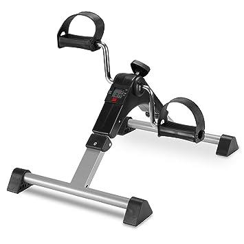 6611f6406 Pedales Estaticos Ejercicio de Mini Bicicleta con Monitor LCD Para Pierna y  el Brazo de Rehabilitación (Plegable)