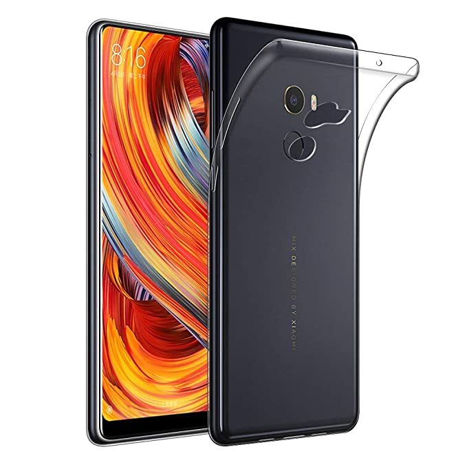 Funda Xiaomi Mi Mix 2 TPU Transparente Slim Silicona Case Cover ...