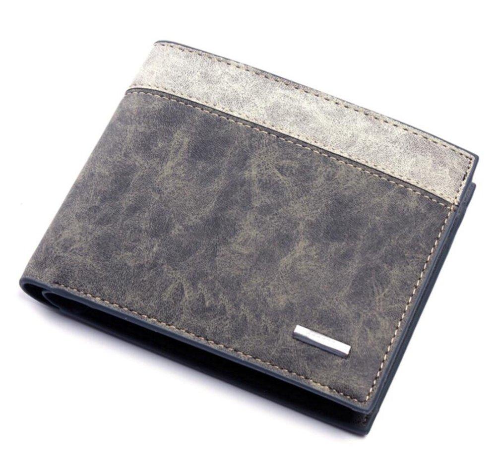 Nclon Clip money per bills, Uomo, Sottile Fermasoldi, Ideale per il regalo Licenza di credito Portafoglio sottile La consistenza morbida -D 10*1.5*12cm