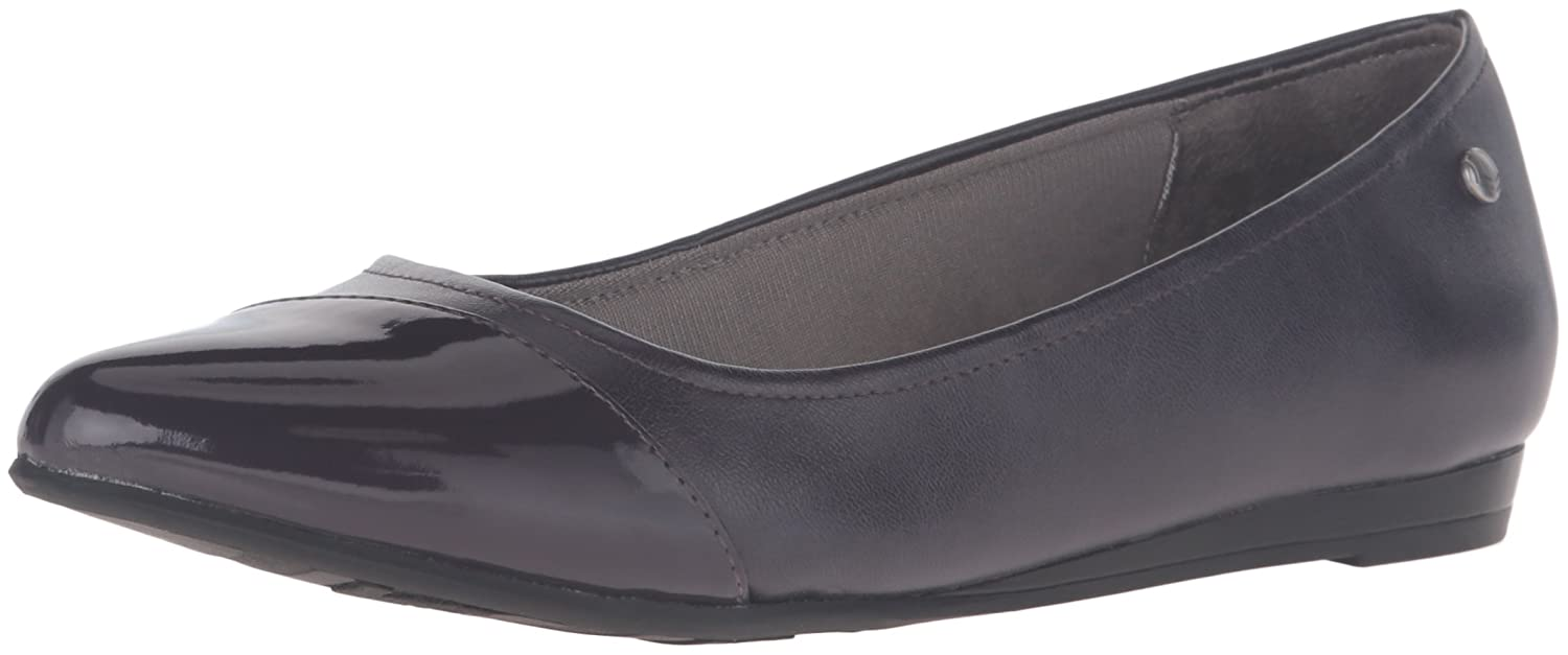 LifeStride Women's Quilma Pointed Toe Flat B01C8IW2Y8 8 B(M) US|Plum