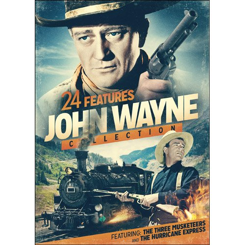 DVD : 24 Features: John Wayne Collection (Full Frame, Slim Pack, 2PC)