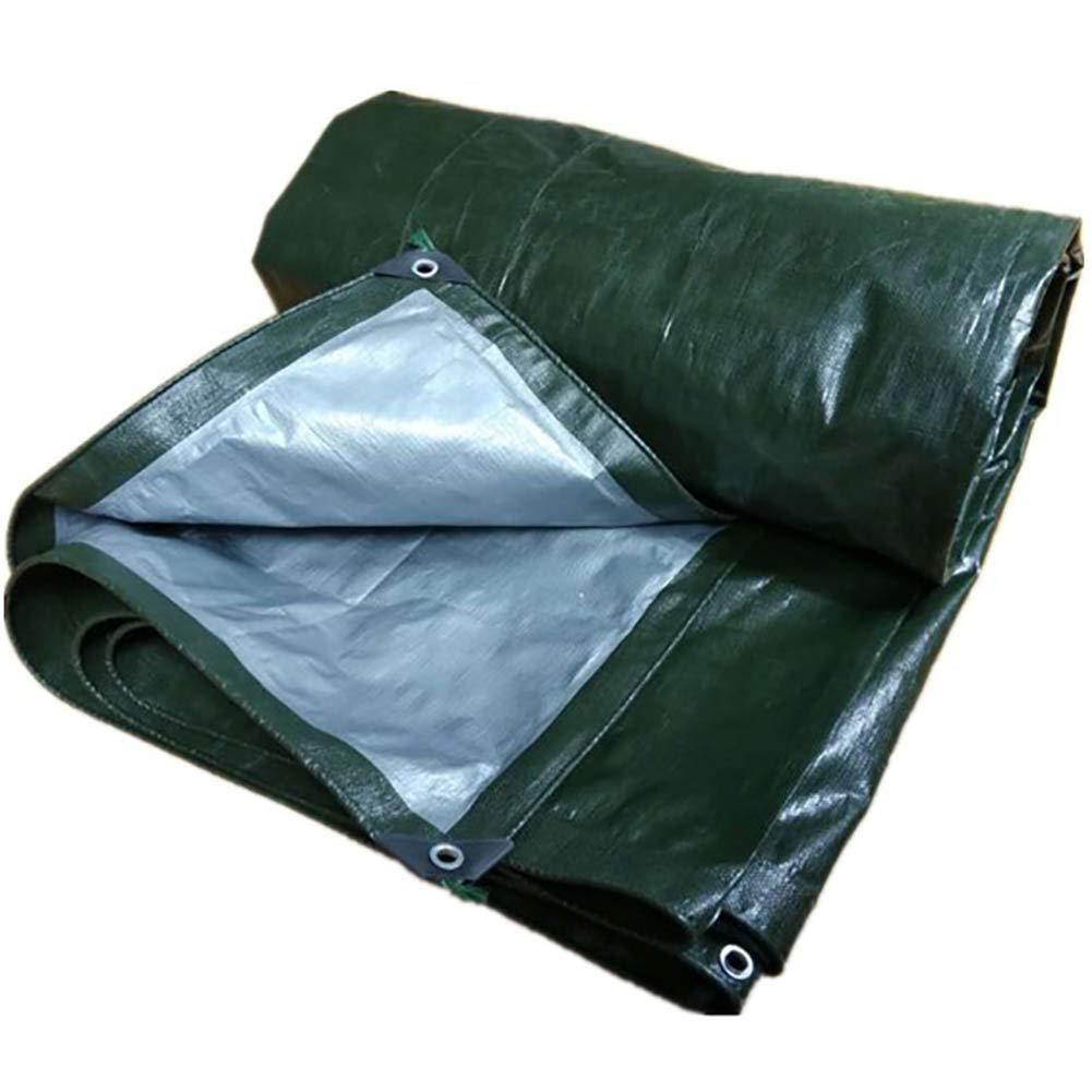 Vert 4.8X7.8m T-ShommeET BÂche Imperméable à l'eau Antigel Prougeection Solaire Anti-VieillisseHommest Extérieur, 13 Tailles Tentes Vertes Stores 3,8 X 5,8 M