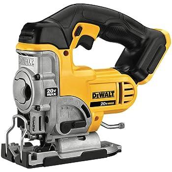 dewalt bare tool dc330b 18 volt cordless jig saw with keyless blade rh amazon com JawSaw De Walt De Walt Cordless Blower