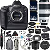 6Ave Canon EOS-1D X DSLR Camera International version (No Warranty) + Canon EF 100-400mm L IS II USM Lens + Battery Grip + LP-E6N Replacement Lithium Ion Battery Bundle