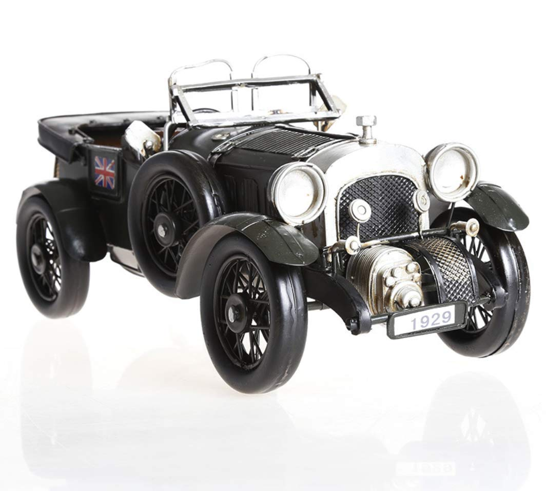 Auto Artigianato Gioielli, Latta Antica Vintage Modello Fotografia Puntelli, Accessori Mobili Ristorante, 34  14  15 Cm
