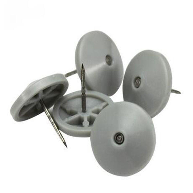 0,63 en etiquetas Pin, seguridad EAS duro etiqueta uñas uñas etiqueta con paraguas cabeza y etiquetas de acero inoxidable acanalado Pin uñas de seguridad (1000pcs/lot- gris) 0d7296