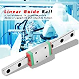 Akozon Linear Guide Rail Block MGN7H 100mm Mini