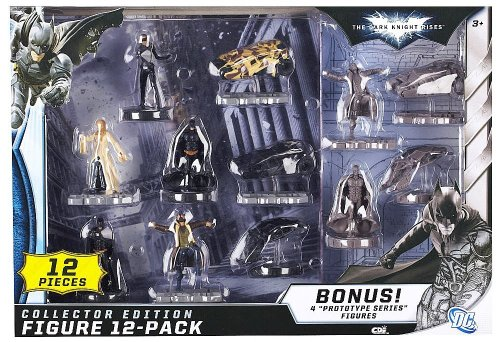 Batman The Dark Knight Rises 12-Pack Action Figure (Dark Knight Collection)