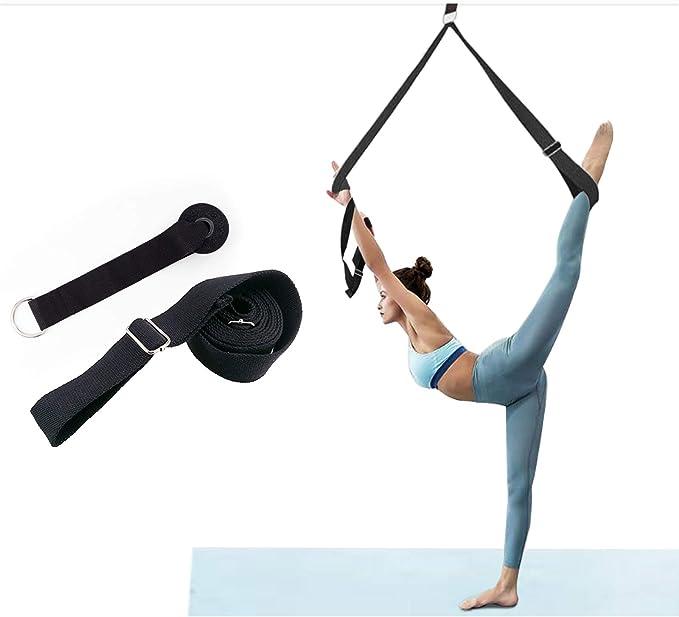 Joga Stretch Strap Widerstand Band Elastischer Gürtel Ziehen Sie Seil