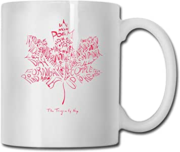 Amazon.com: The Tragically Hip Canada Flag Coffee Mugs ...