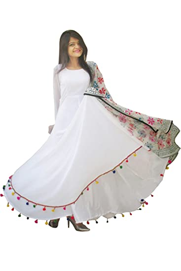 ed7a8592e8c93 Rajkumari Women s Beautiful Georgette with Santoon Lining Lashkara ...
