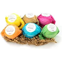 6-Count Anjou 3.5 oz Colorless Bath Bombs Gift Set