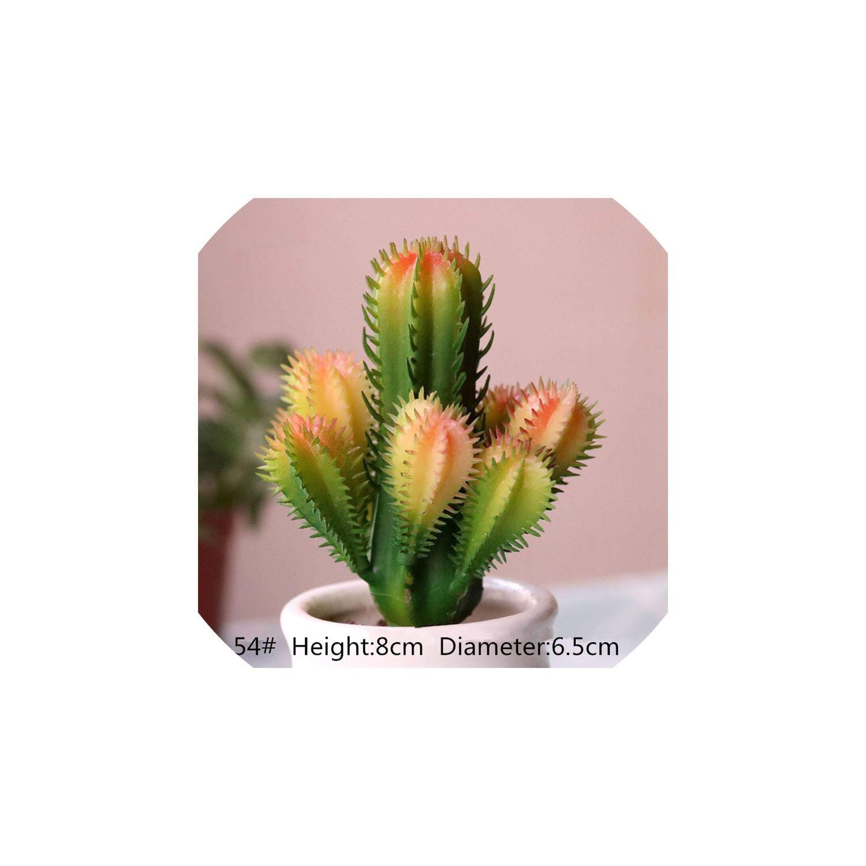 YP-fashion-Artificial-Succulents-Land-Lotus-Plants-Grass-Desert-Artificial-Plant-Landscape-Fake-Flower-Arrangement-Garden-Home-Decoration54