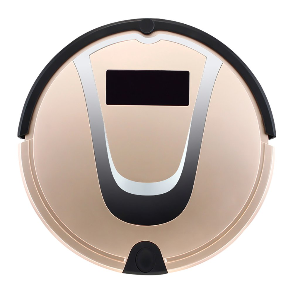 Powpro Robotic Vacuum Cleaner with Mop and Side Brush,for Hard Floor,with LED Touch Screen and Remote Control