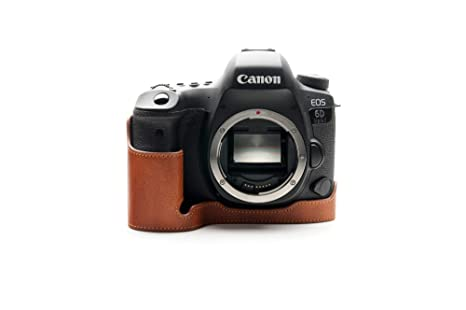 Zakao - Funda para cámara Canon EOS 6D Mark II (Piel auténtica ...