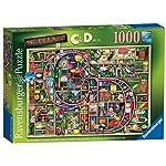 Ravensburger Puzzle Cherubino 500 Pezzi Doppia Facci Incluso Poster 50cm X 50cm