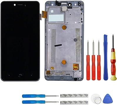 swark Pantalla LCD para BQ Aquaris U/BQ Aquaris U Lite Negro ...