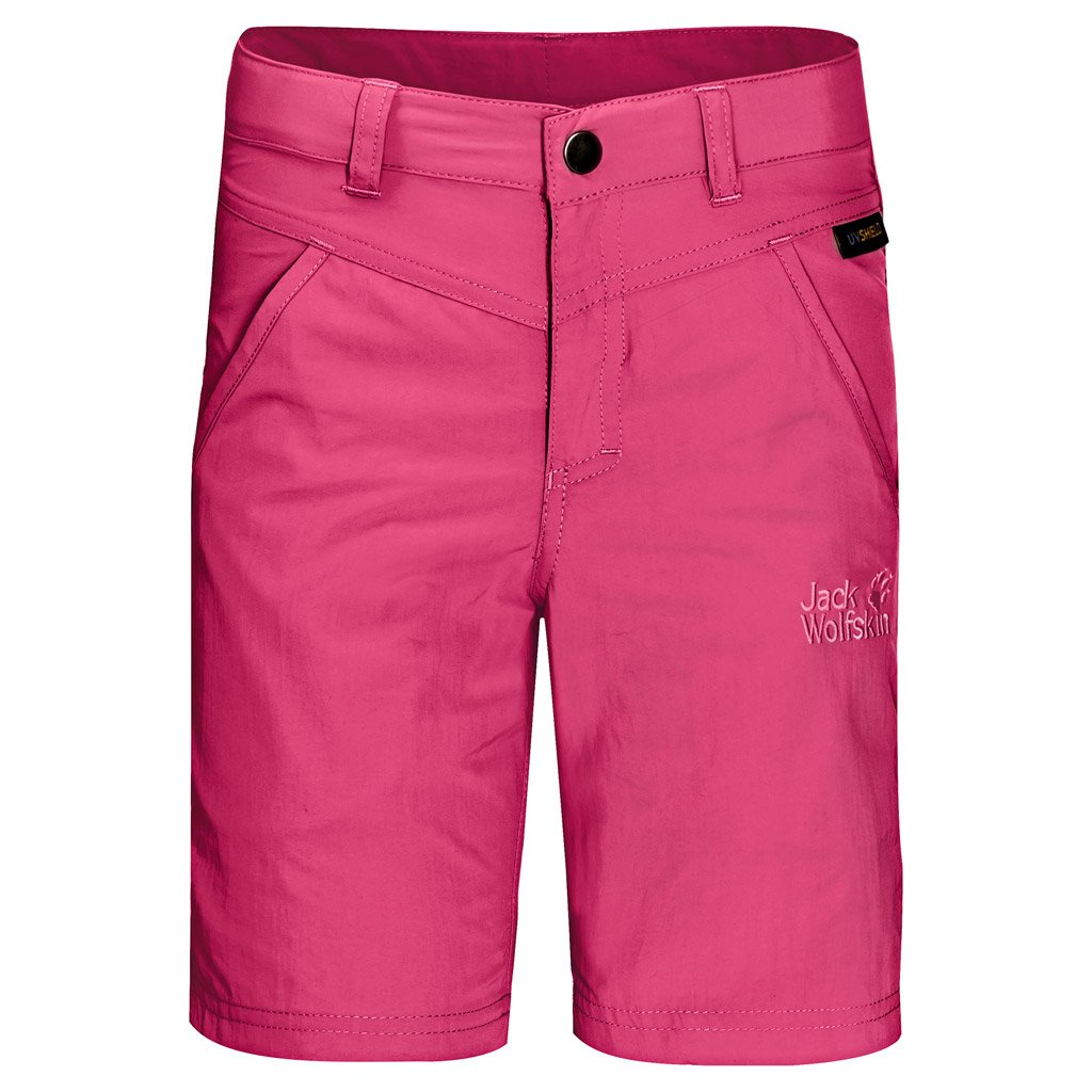 Jack Wolfskin Sun Shorts, Tropic Pink, Size 140 (9-10 Years Old) by Jack Wolfskin
