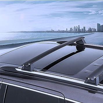 For Jeep Grand Cherokee OE Style Aluminum Bolt-on Top Rail Roof Rack Cross Bar w//Lock