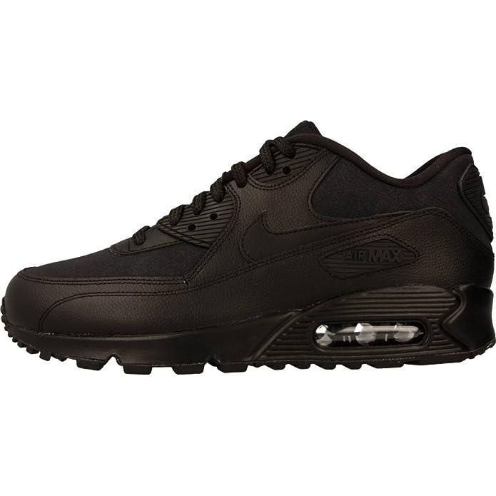san francisco 78a8a dd9f3 Nike Damen Air Max 90 Patent Schwarz Leder Sneaker 36  Amazon.de  Schuhe    Handtaschen
