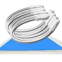Goma Elástica para Cobertores de Piscina – Kit 20 Und – Ajustables por apertura del canutillo