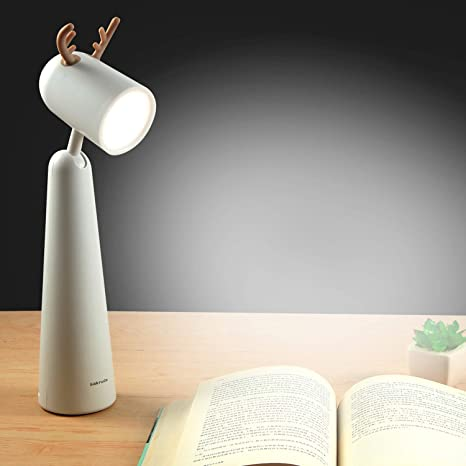Foldable Touch LED Desk Lamp Dimmable Table Lamp Night Light Eye Protection 4W
