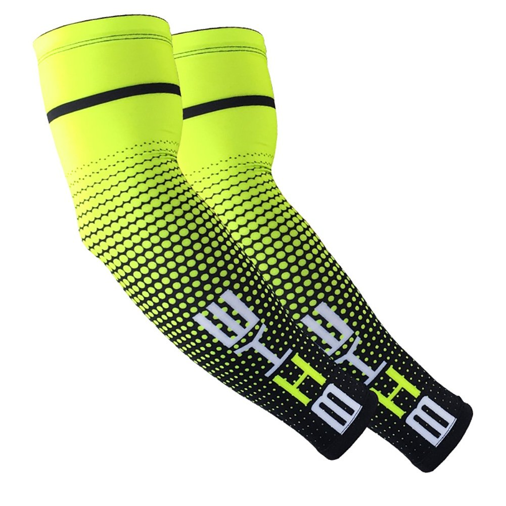 Youth /& Adult Sizes BATEER Sports Compression Arm Sleeves 1 Pair UV Protection Cooling for Baseball Basketball Football Running Cycling Sports