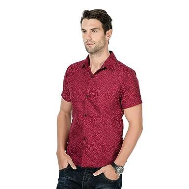 Nanshizscs Camisa De Hombre Camisas De Vestir Casual De