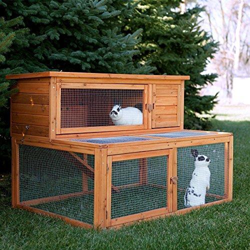 Boomer & George Deluxe Rabbit - Cage Tri Level Wire