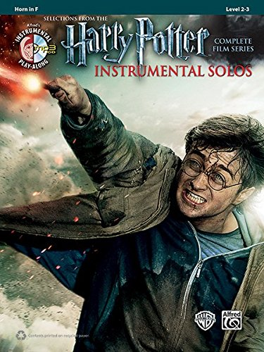 Harry Potter Instrumental Solos: Horn in F, Book & for sale  Delivered anywhere in USA