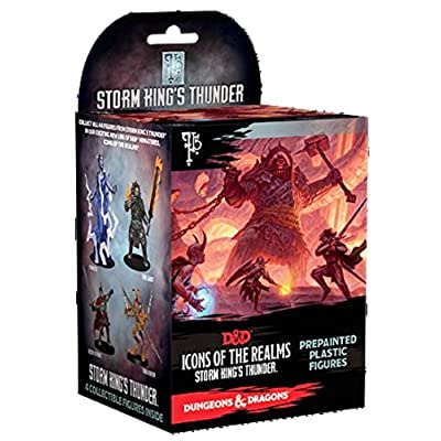NECA Icons of The Realms: Single Booster - Storm King's Thunder: Toys & Games