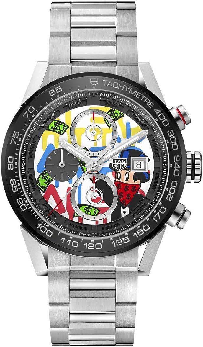 Tag Heuer Carrera ALEC Monopoly Special Edition CAR201AA.BA0714 - Reloj para hombre: Amazon.es: Relojes