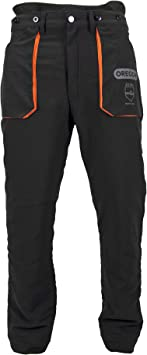 Oregon 295397 - Pantalón protector para trabajos con motosierra (talla S)