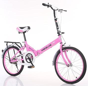 YEARLY Adultos bicicleta plegable, Bicicleta plegable estudiante Luz portátil Para niños Hombre Señoras Bicicleta plegable