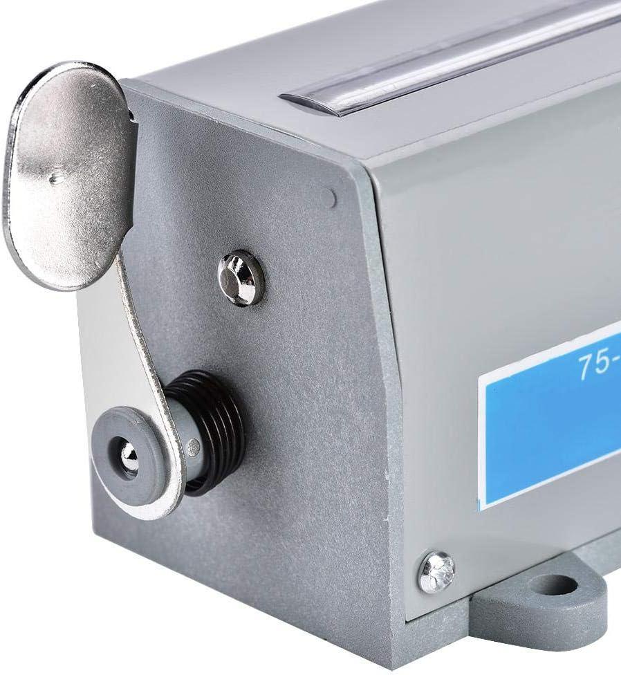 75-I Affichage /à 5 chiffres Compteur de r/évolution rotatif /à r/éinitialisation m/écanique avec plage de comptage 0-99999 Compteur de r/évolution rotatif