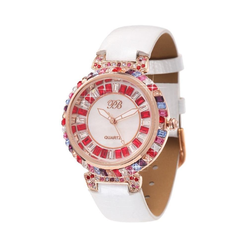 WP- Uhr Armbanduhr Mode-Damen-Diamant-Quarz-Uhr  - 2