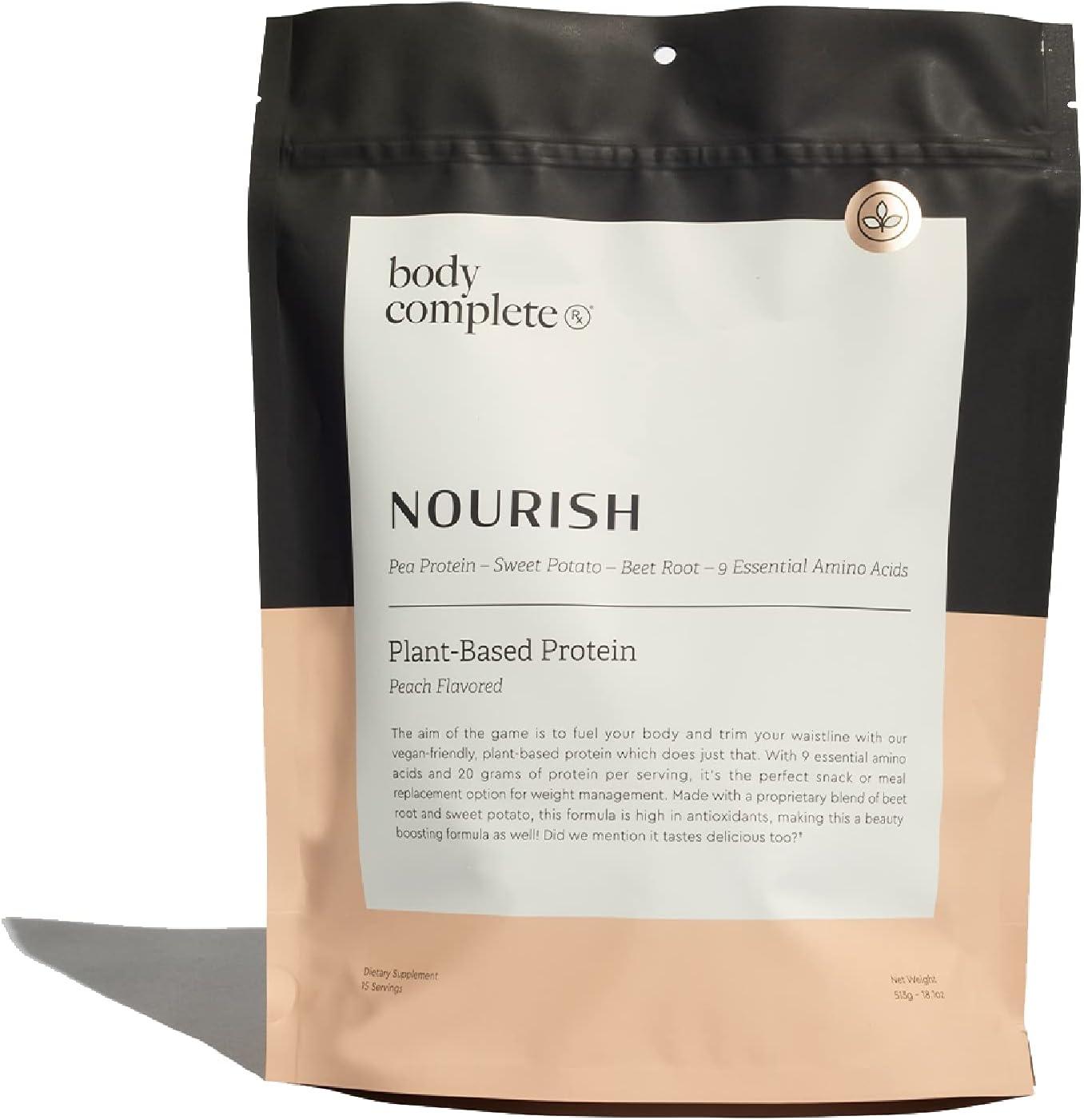 Body Complete Rx - Nourish - Protein (Peach, 15 Servings)