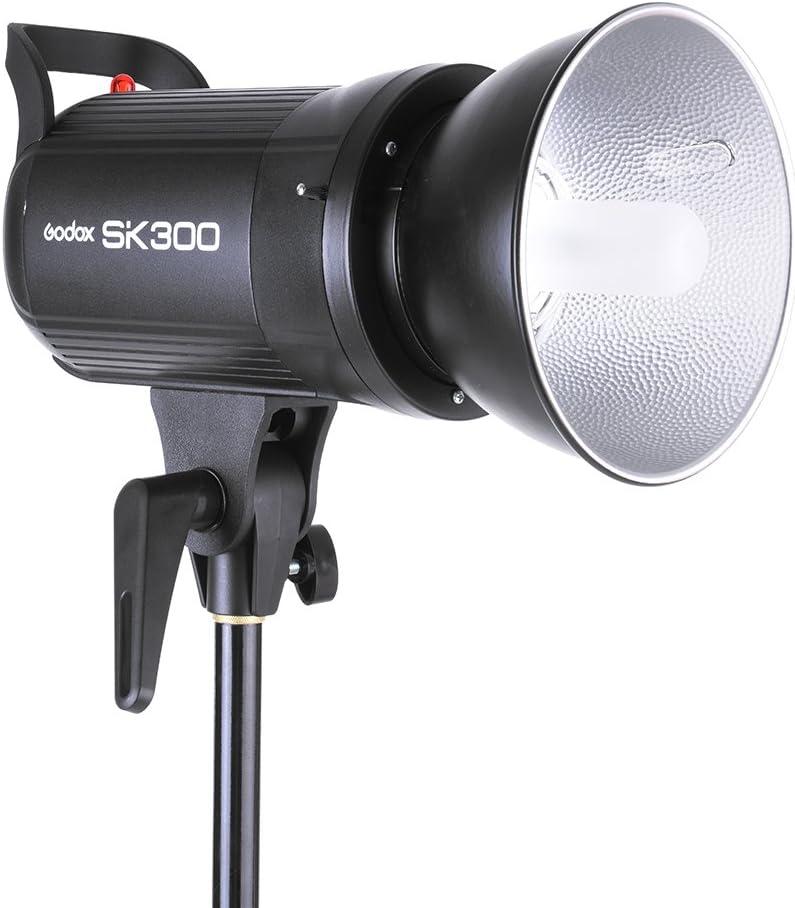 Carry Bag 1 Soft Umbrella 1 300WS Studio Photo Strobe Flash Kit 3 1 Godox SK300-D 3 Light Stand 1 Flash Trigger Softbox 1 Shade Reflector Umbrella 1