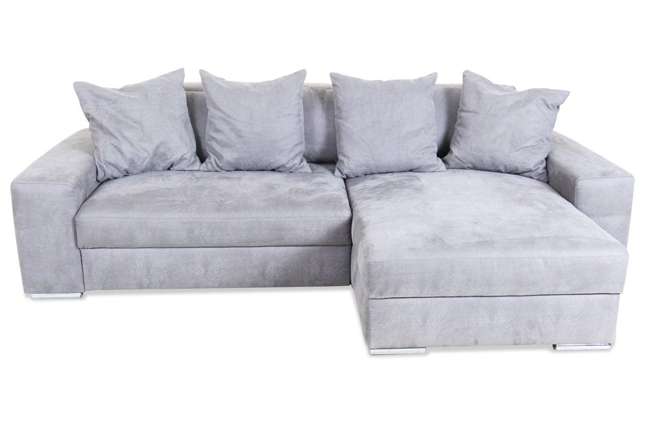Sofa Castello Ecksofa Gomez Mit Schlaffunktion Anthrazit Luxus
