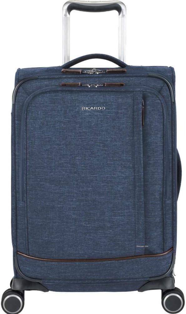 Ricardo Beverly Hills Malibu Bay 2.0 20-Inch Carry-On Suitcase (Midnight Navy)