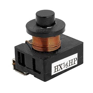 1/5 HP nevera electromagnética de arranque del compresor PTC Relay ...