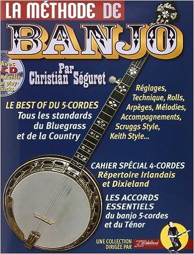 Livre gratuits la méthode de Banjo (+ 1 CD) - Rebillard pdf, epub ebook