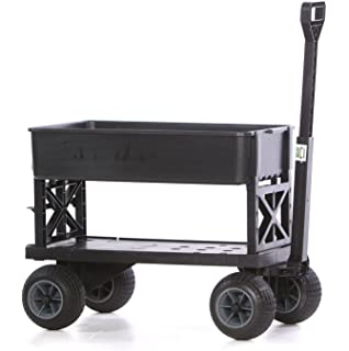 bc790e32aec8 Amazon.com : Beach Wagon Cart for Sand with Wheels All Terrain Haul ...
