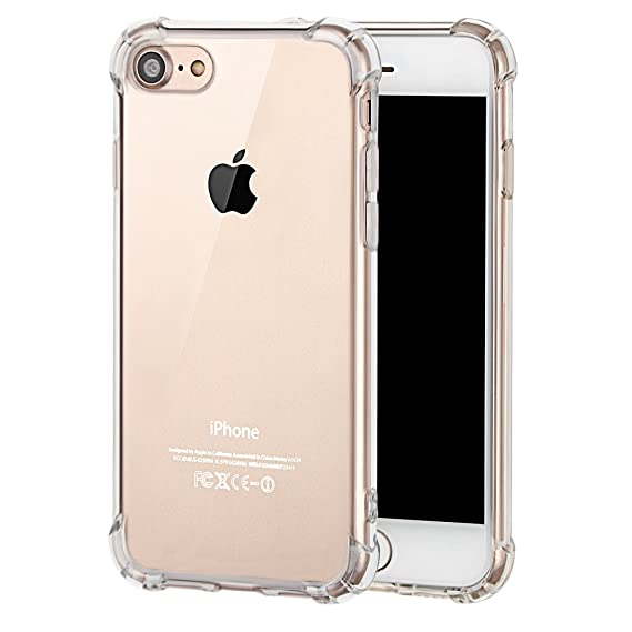 IPhone 7 Case for TPU Explosion-Proof ,Lightweight Explosion-Proof Hard  Case for Apple 7 cover (Transparent)
