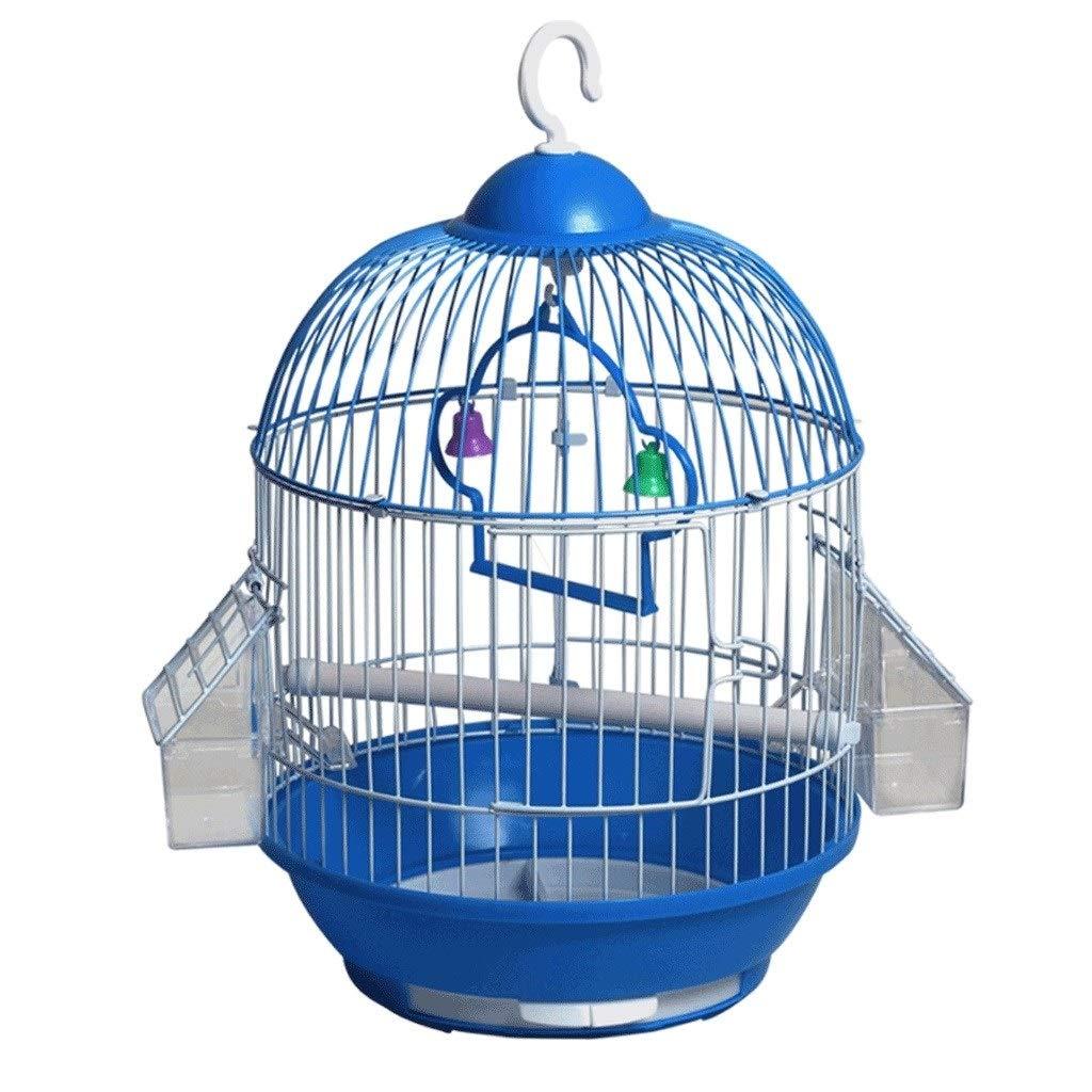 Xinxinchaoshi Suministros para Mascotas Jaula de pájaros Redonda ...