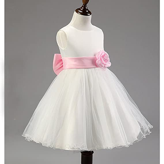 Free Fisher Vestido Ceremonia de tul para Niñas\Vestido de Fiesta Boda para niñas: Amazon.es: Ropa y accesorios