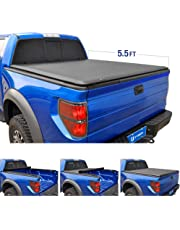 Tyger Auto T1 Roll Up Truck Tonneau Cover TG-BC1F9029 Works with 2015-2019 Ford F-150 | Styleside 5.5' Bed